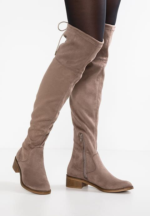eda32b811161 Chaussures s.Oliver Cuissardes - pepper taupe  89