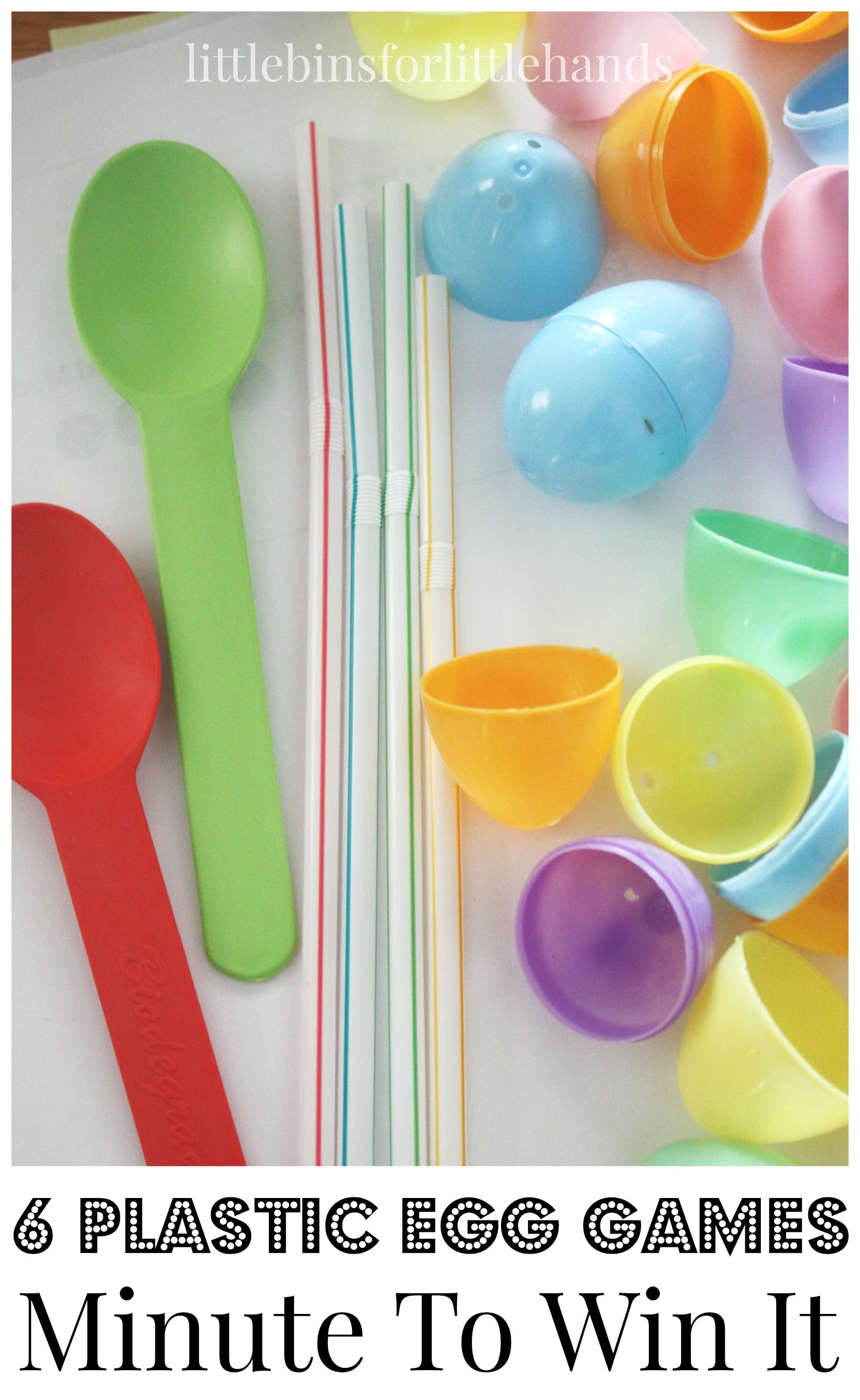 Easter Minute To Win It Games With Images Easter Games For