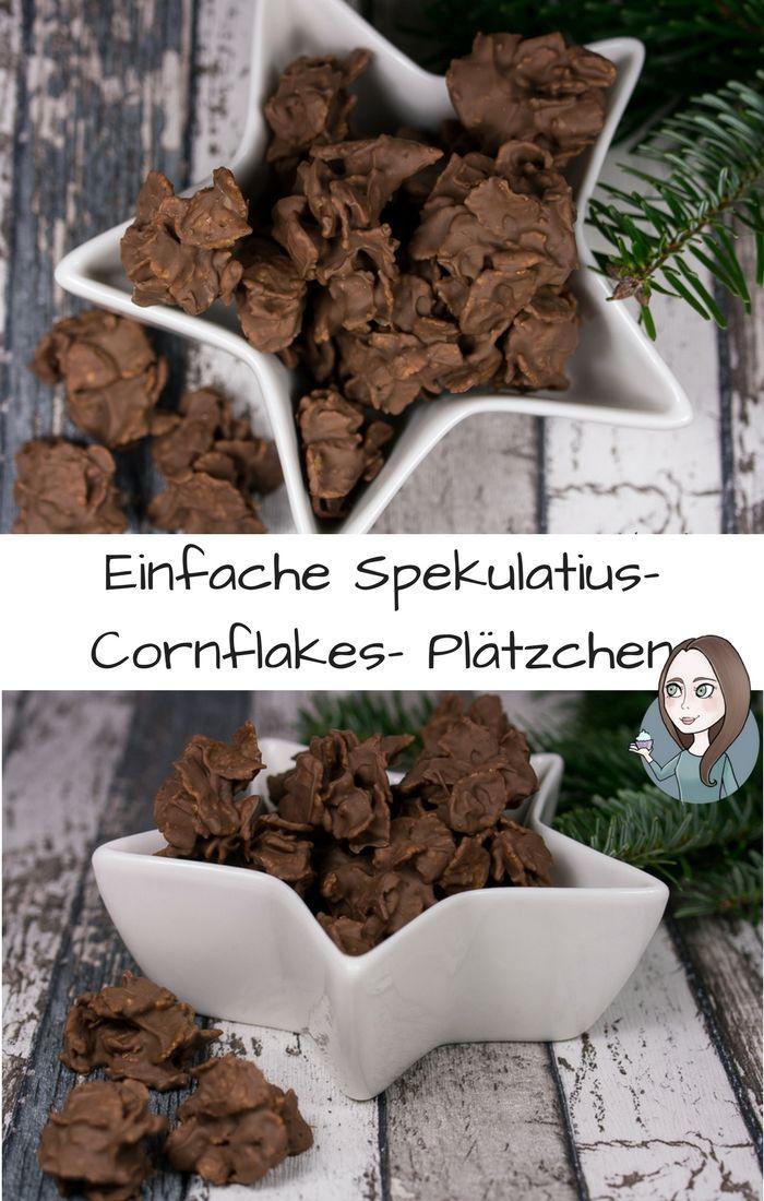Spekulatius Cornflakes Plätzchen Rezept #plätzchenrezept