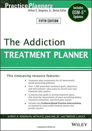The Addiction Treatment Planner Includes Dsm Updates  Books
