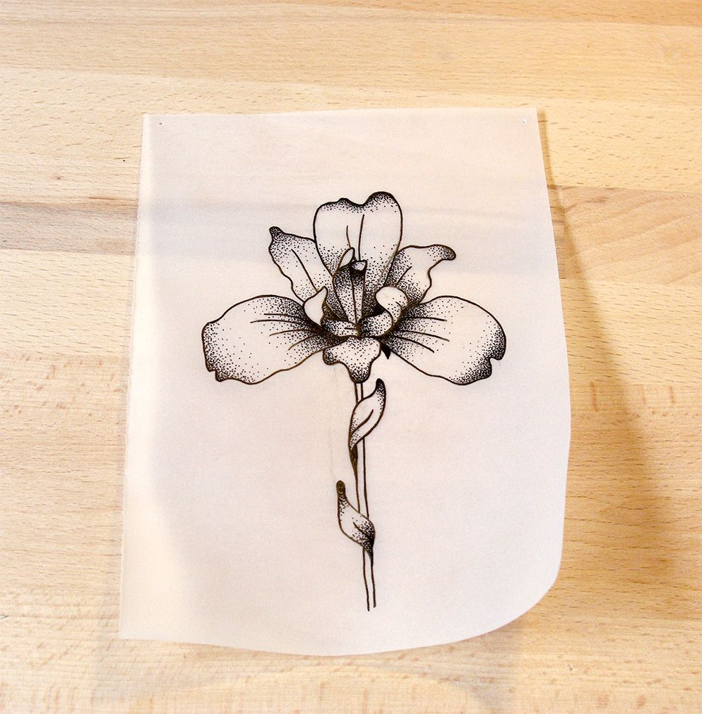White Rabbit Tattoos Sofia Portfolio Iris Tattoo Iris Flower Tattoo Iris Drawing