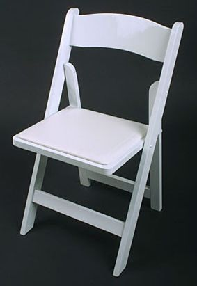 White Rosin Chair With Images Wood Folding Chair Wooden