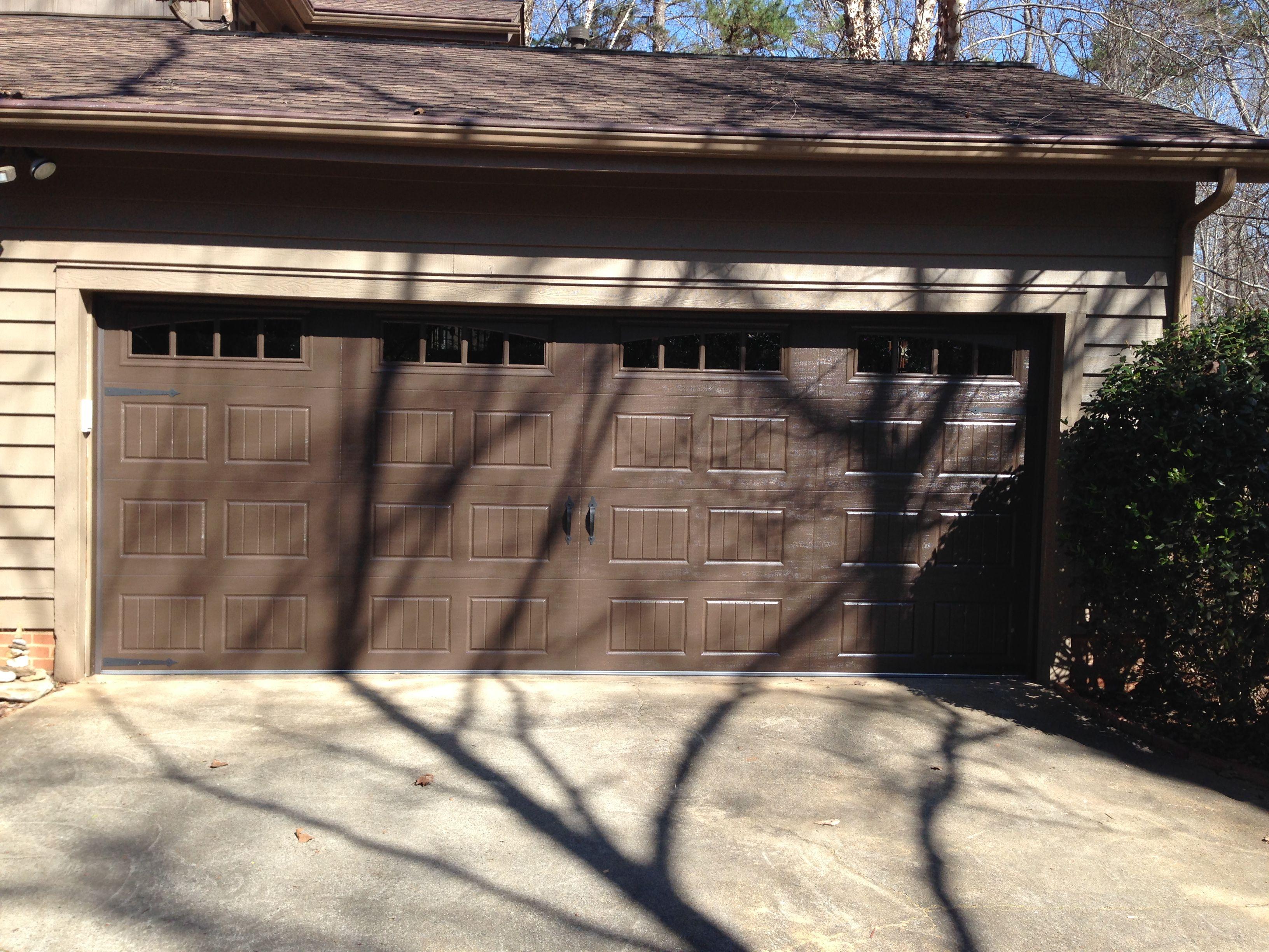 Dark Brown Carriage House Garage Door Garage Doors Cheap Garage