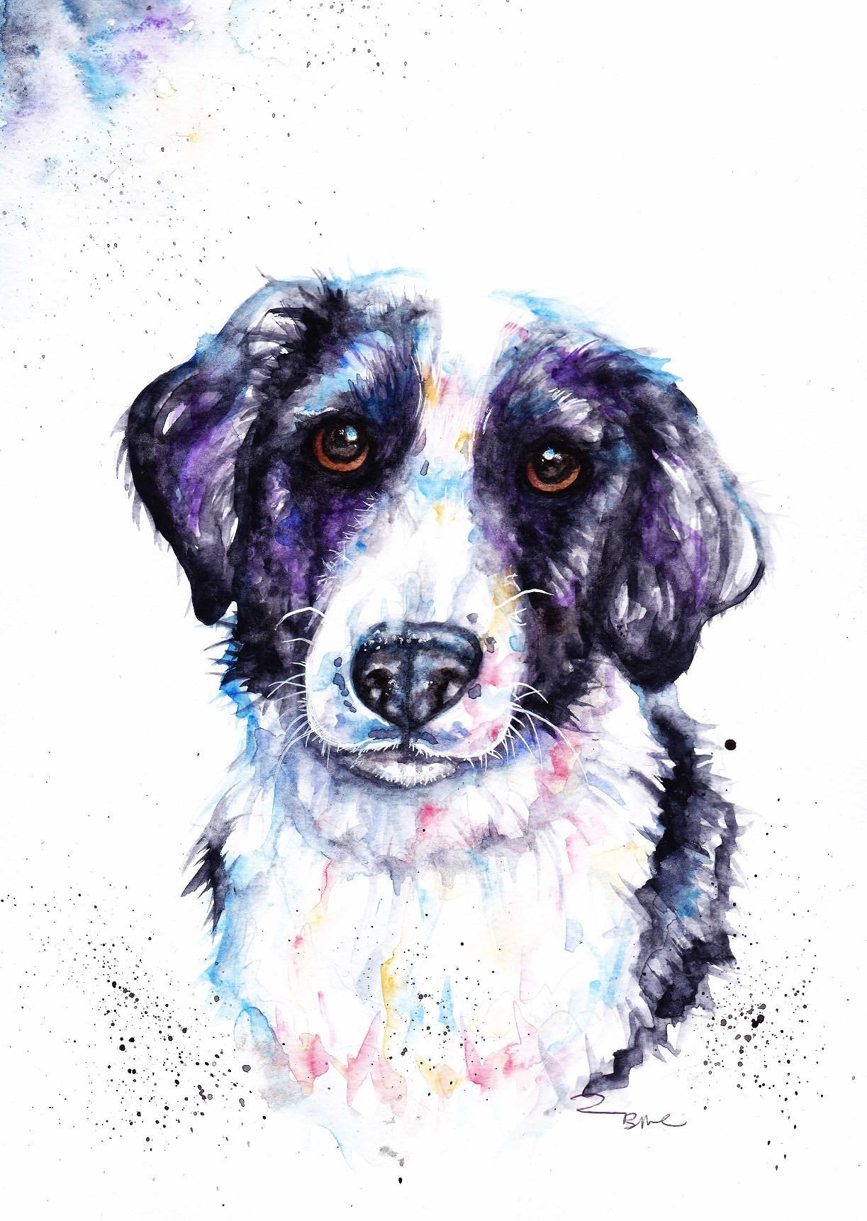 dbfc8b42c5b2 Love to do pet commisions #dog,#cat#christmas,#horse,#guinea_pig,#birds,#family,#present,#artwork#watercolour,#art,commision  www.etsy.com/uk/shop/BebesArts