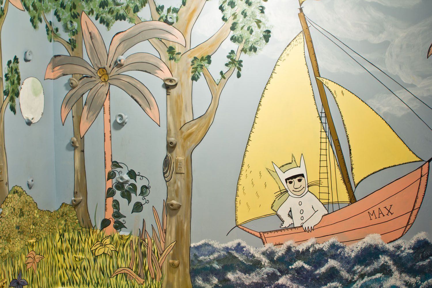 Where the Wild Things Are Mural. Murals I've painted