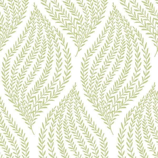 Fern Lime Green Peel And Stick Wallpaper Peel And Stick Wallpaper Brewster Wallcovering Vinyl Wallpaper
