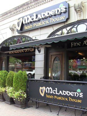 Mcladdens Irish Publick House West Hartford Ct New England L