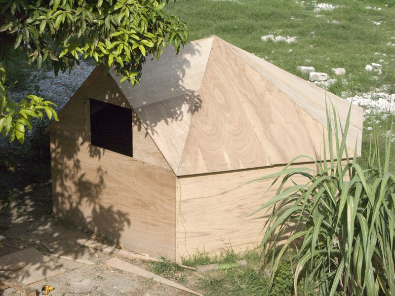 Hexayurt Cheap Simple Survival Shelter Or Tent