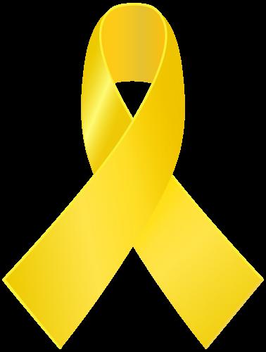 Yellow Awareness Ribbon Png Clip Art Ribbon Png Awareness Ribbons Clip Art