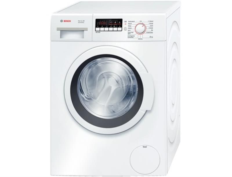 Samsung 4 5 Cu Ft High Efficiency White Front Load Washing Machine With Steam Energy Star