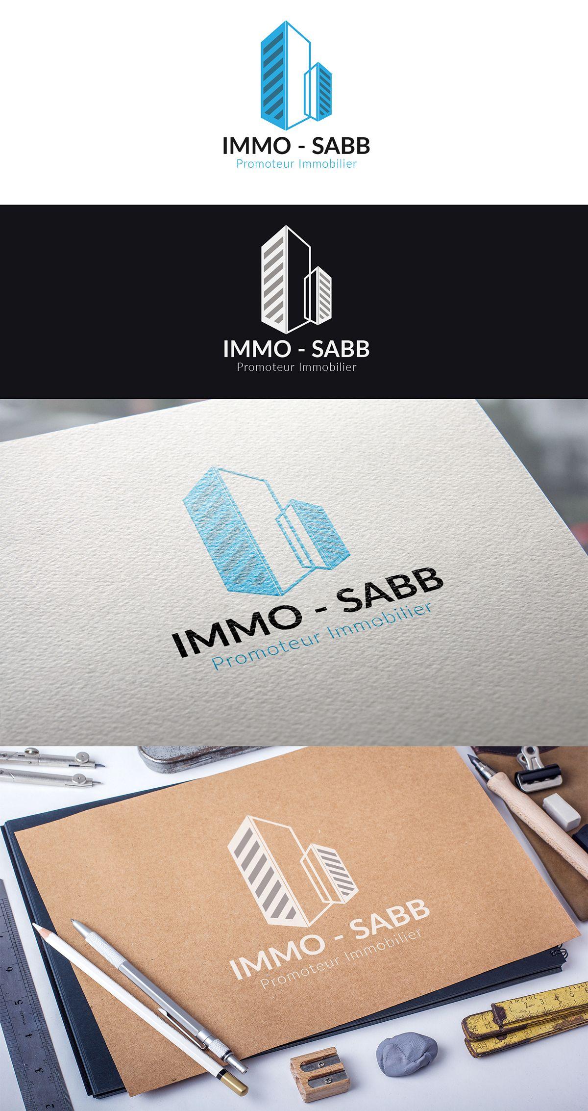Logo Design On Behance Promoteur Immobilier Promoteur