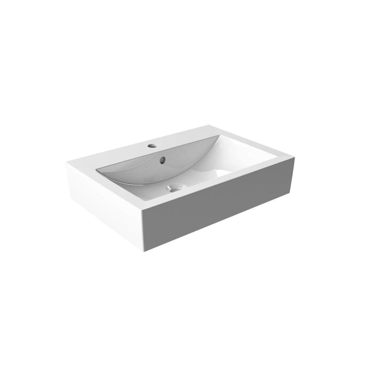 Umywalka Nablatowa 50 Armatura Krakow Orne Umywalki W Atrakcyjnej Cenie W Sklepach Leroy Merlin Home Decor Decor Sink