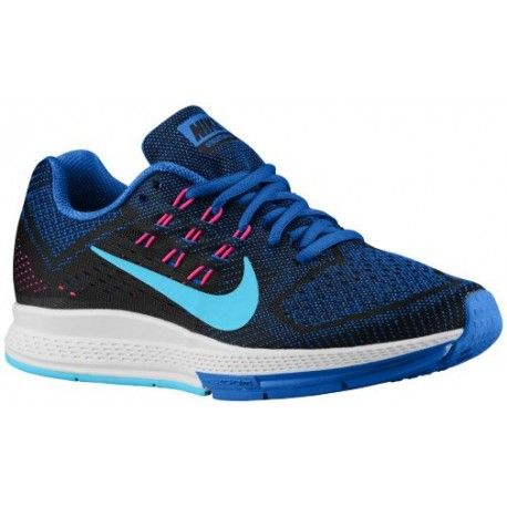 Nike Zoom Structure 18 Womens Running Shoes Lyon BlueBlackPink PowClearwatersku83737400 Nike zoom Lyon and Running shoes