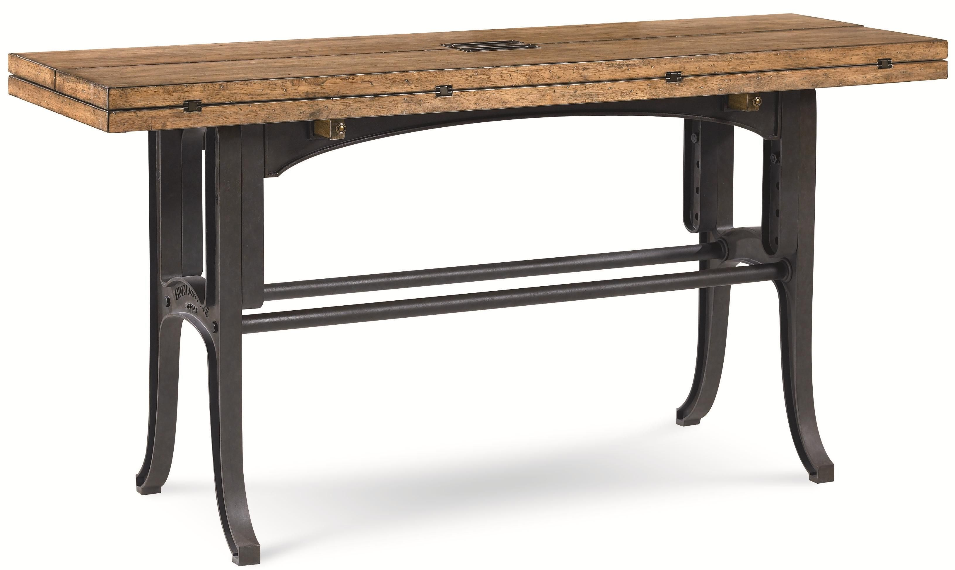 Reinventions Boulton And Watt Flip Top Sofa Table By Thomasville