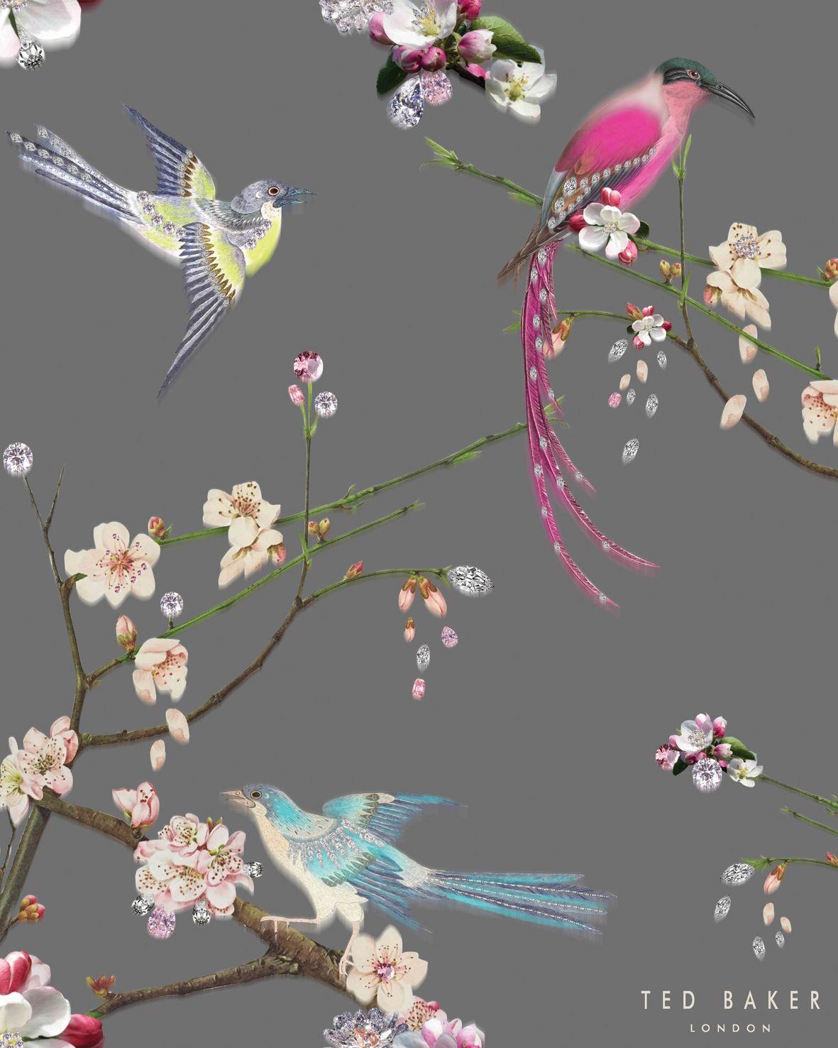 Ted Baker Flight of the Orient glass Splashback | PAINTINGS | Pinterest