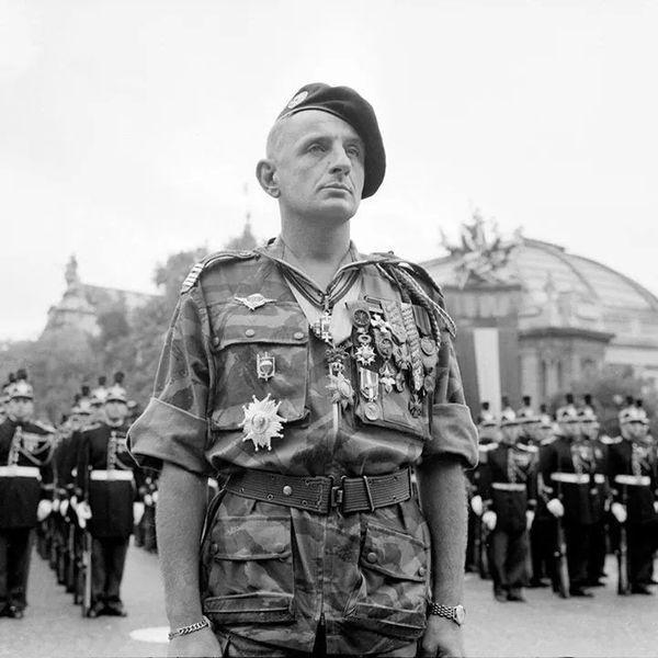 General Marcel Bigeard Armee Francaise Forces Speciales Francaises Militaire Francais