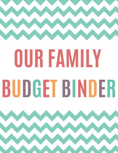 free printable budget binder download or print organize