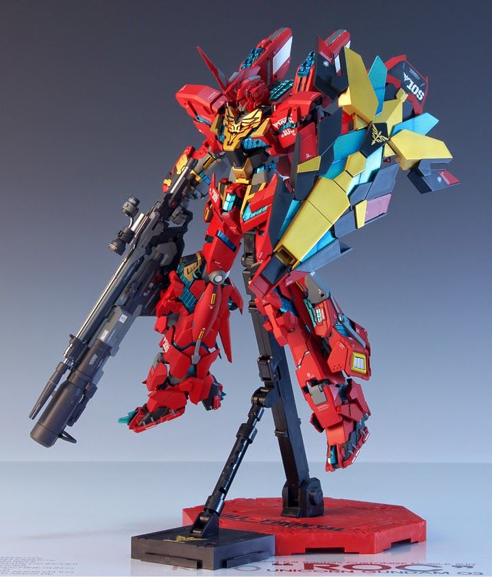 GUNDAM GUY: MG 1/100 Unicorn Gundam 03 Neo Zeon Full