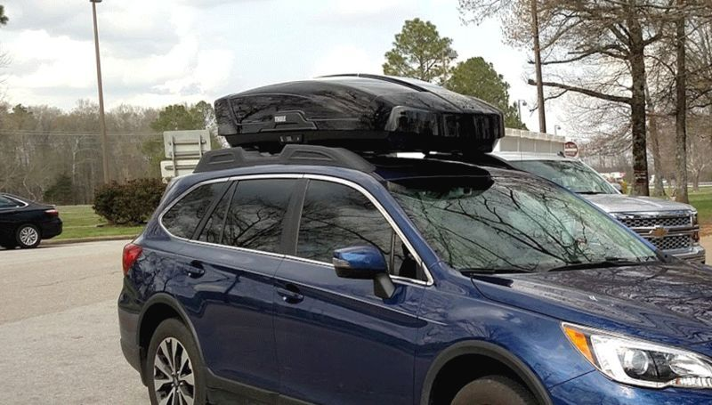Thule S Motion Xt Cargo Box Earns A Ride On Your Next Road Trip Thule Cargo Riding