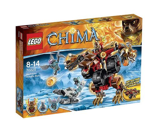 Rumble Bladvic's 70225 Of Bearlegolegochima Chima Lego Legends tQxChrds