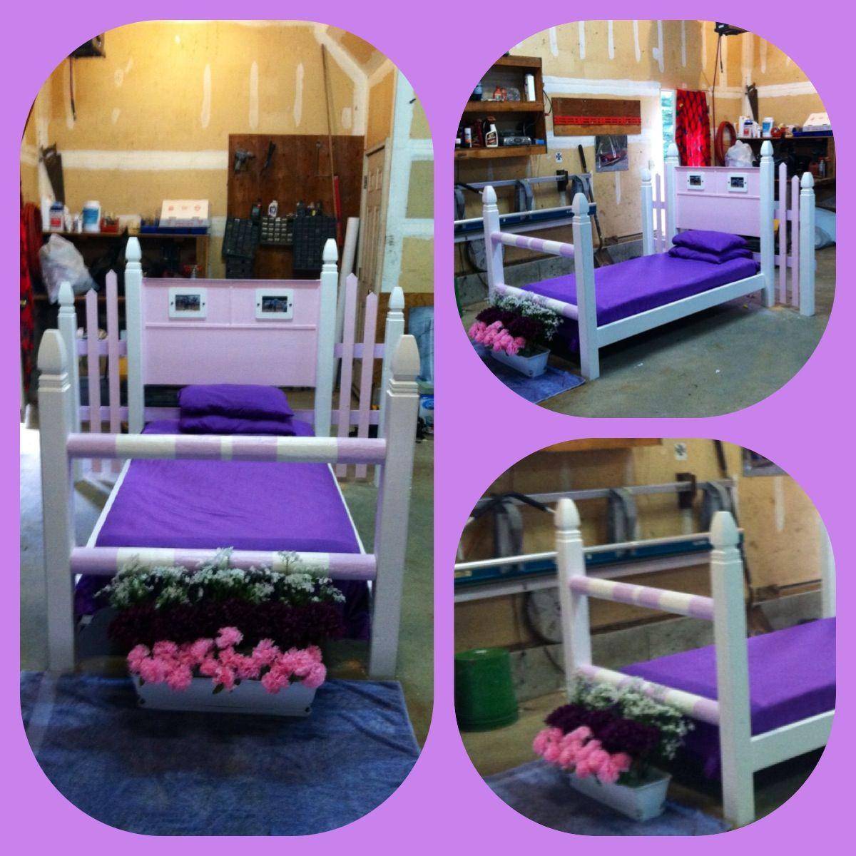 Horse Jump bed! | Horse room decor, Horse girls bedroom