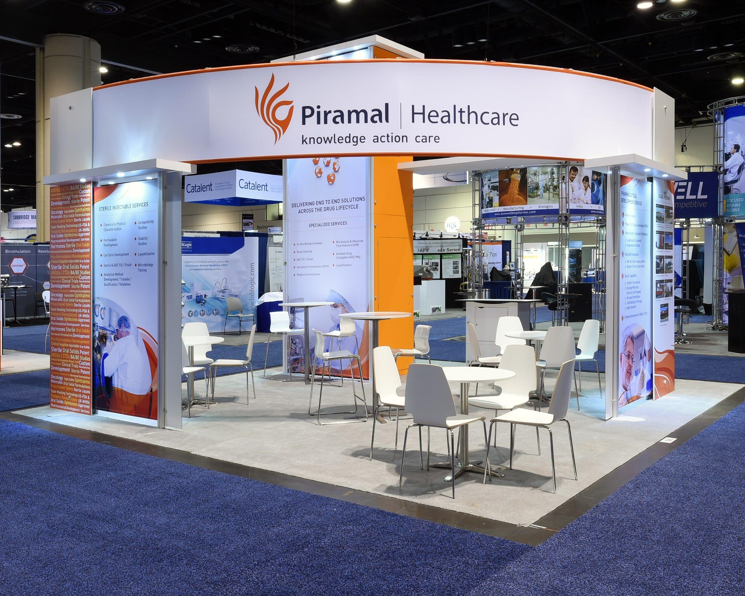 Exhibition Stands In Orlando : Piramal healthcare exhibition stand in orlando