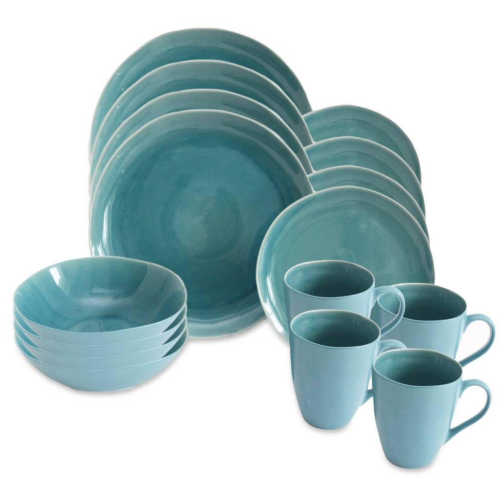 Product Image For Baum Current 16 Piece Dinnerware Set In