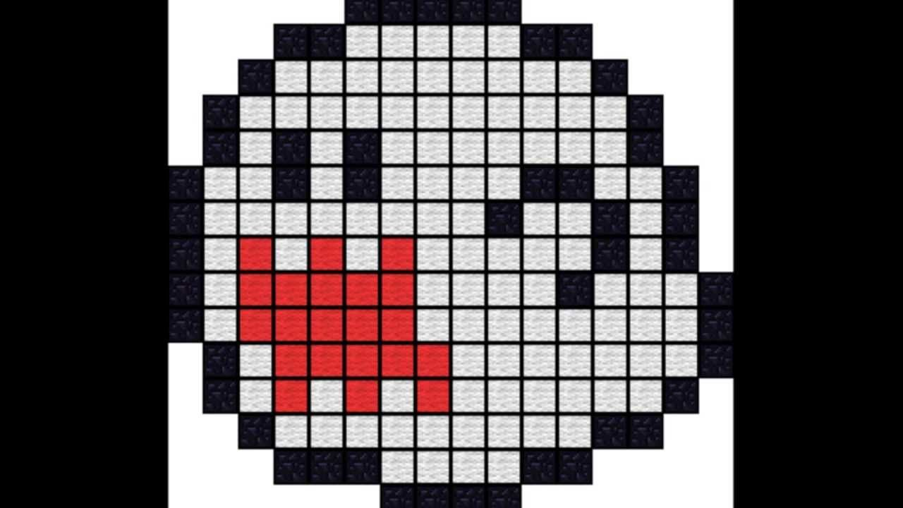King Boo Pixel Art Pixel Art Templates Minecraft Pixel Art