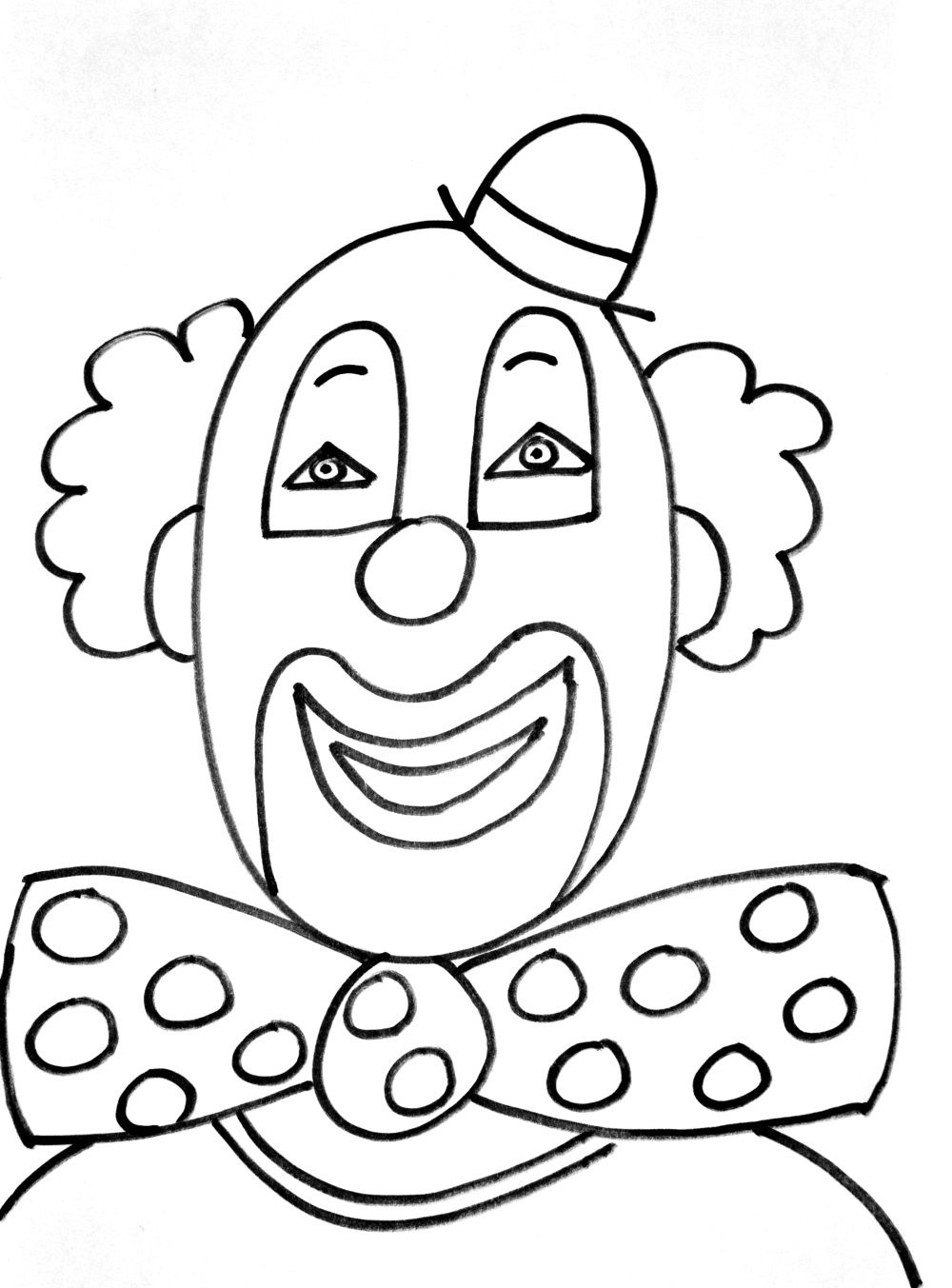 25++ Clown coloring pages for preschoolers information