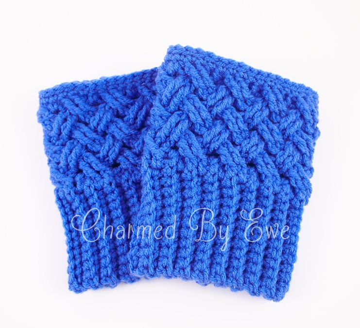 Free Crochet Boot Cuff Socks Patterns | Aislinn Celtic Dream Boot ...