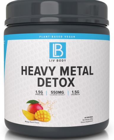 supliment de detoxifiere cu metale cilantro