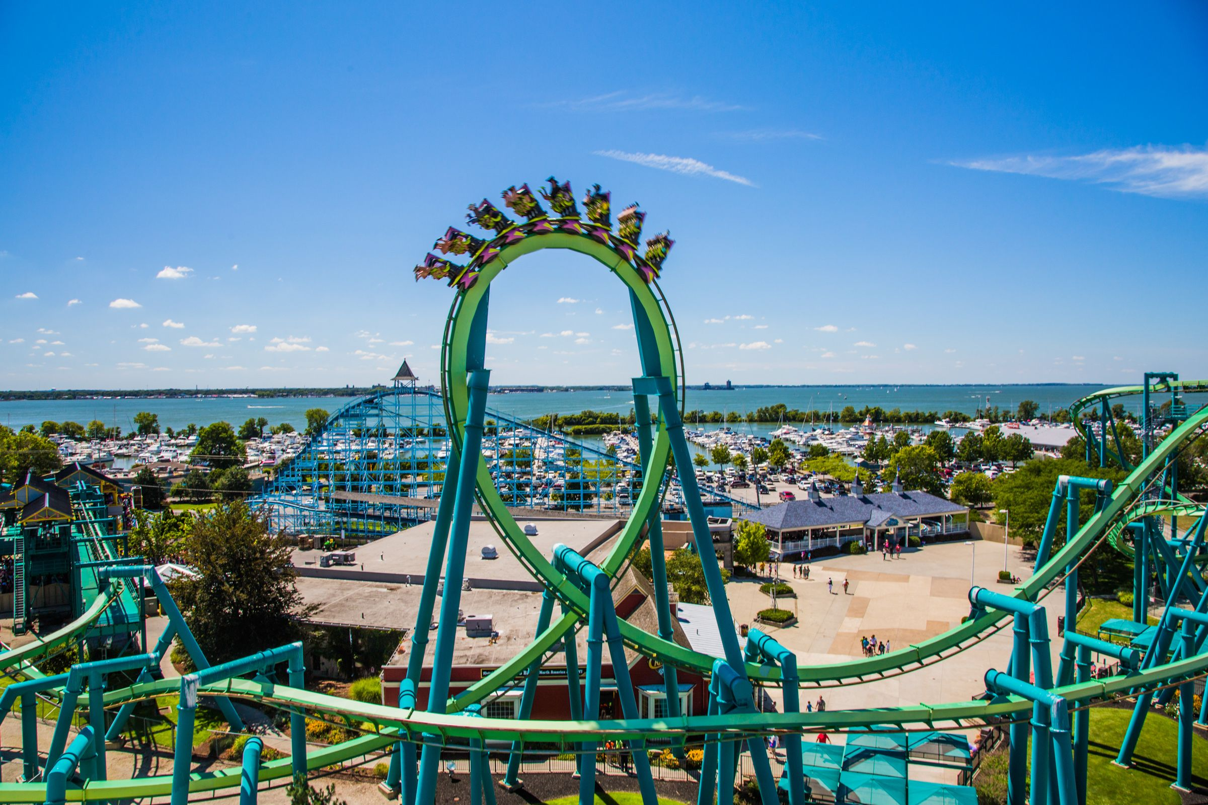 Awesome day at Cedar Point with two younger cousins. Never too old for rollercoasters. Even managed to get on a few rides with my folks. A feat which hasn't been achieved since 1996