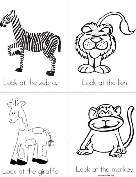 the zoo mini book from educational zoo book zoo activities zoo preschool. Black Bedroom Furniture Sets. Home Design Ideas