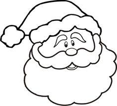 Free Santa Drawing Cliparts Download Free Clip Art Free Clip Art On Clipart Library Santa Face Christmas Coloring Pages Christmas Coloring Sheets