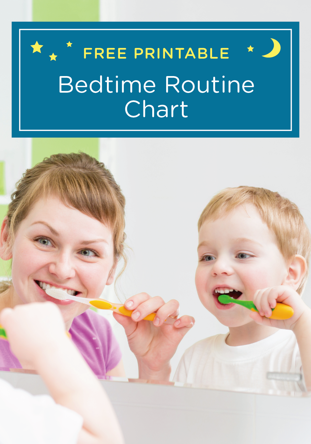 Bedtime Routine Chart The Pleasantest Thing Bed