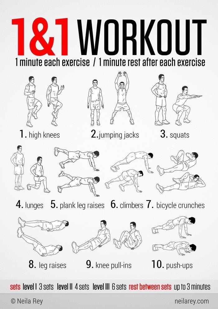 11 No Equipment Workout