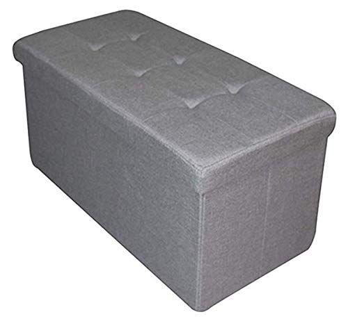 Fantastic Folding Storage Ottoman Seat Stool Toy Storage Box Mrs Dailytribune Chair Design For Home Dailytribuneorg