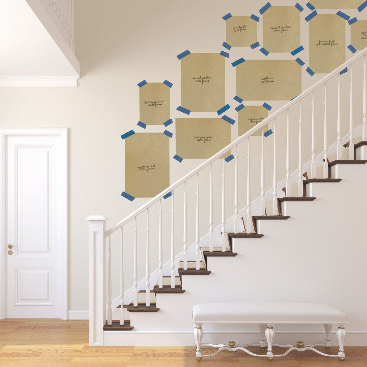 Staircase Gallery Wall - Design Tips & Layouts