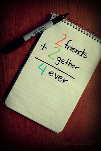 2 Friends + 2 Gether U003d 4 Ever