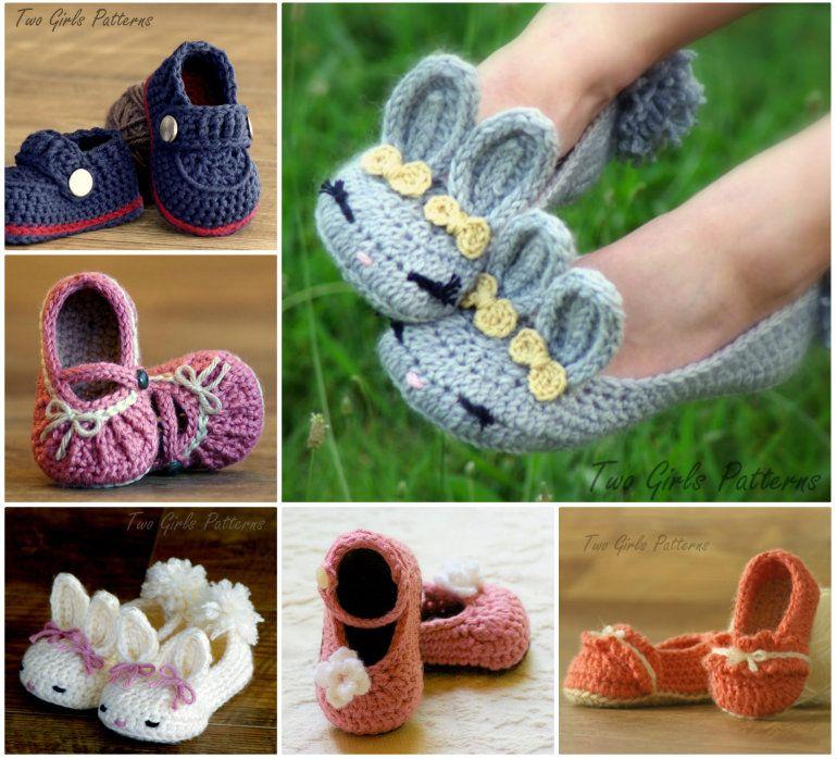 Crochet Slipper Collection