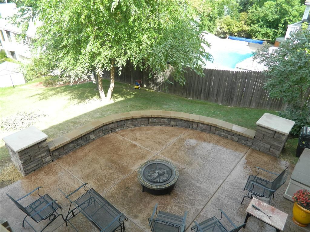 Decorative Concrete Walls Simple Of Decor Decorative Concrete 00 ... Retaining  Wall PatioConcrete ...