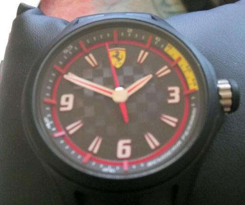#Ferraridesign - Scuderia Ferrari Sport Watch Water Resistant 5ATM - 50 Meters https://t.co/nfNDRB95A0 https://t.co/Eq97cwZoLy