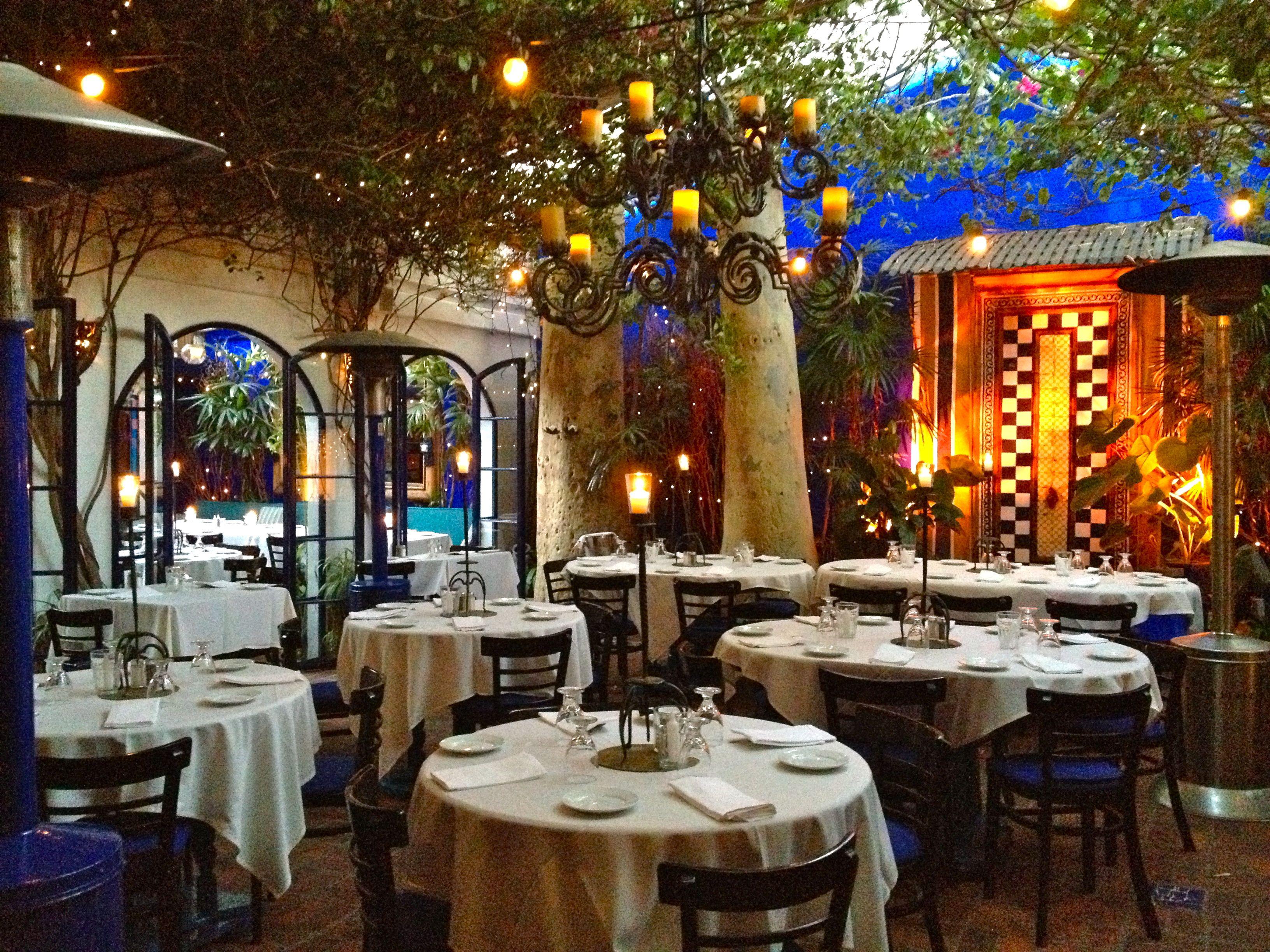 Romantic Restaurants In Los Angeles Los Angeles Restaurants California Restaurants Southern California