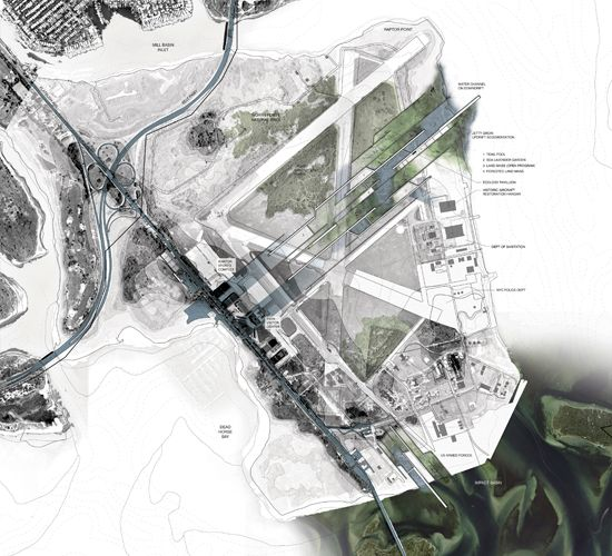 Site Architecture Map: A Plan View Of The Park. Image By Kelly And Wakabayashi