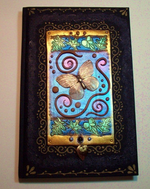 Butterfly blank book by MandarinMoon.deviantart.com on @deviantART