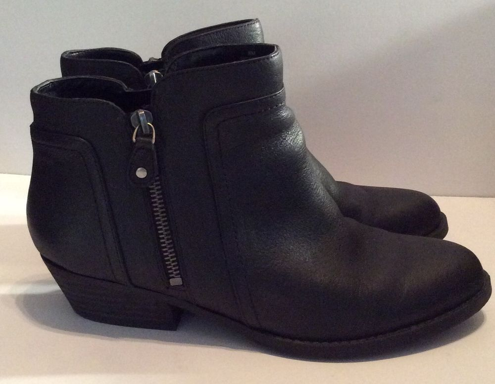b185e1581b4 Nine West Shyenneo Women's Black Zip Ankle Boots US Size 8 | eBay ...