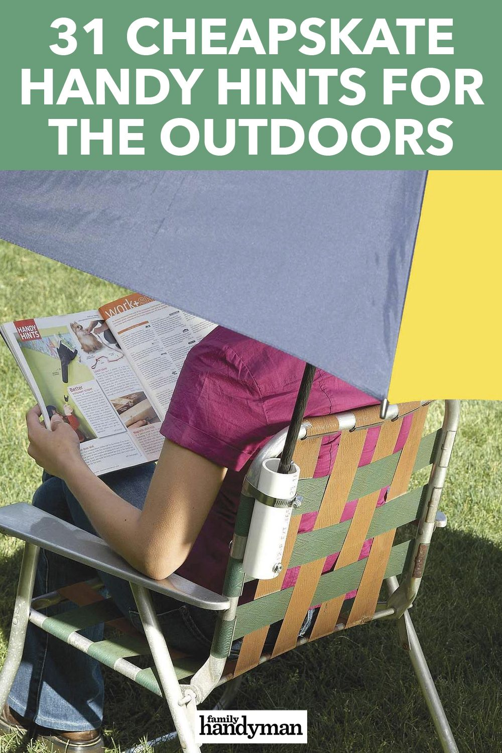 31 Cheapskate Handy Hints for the Outdoors