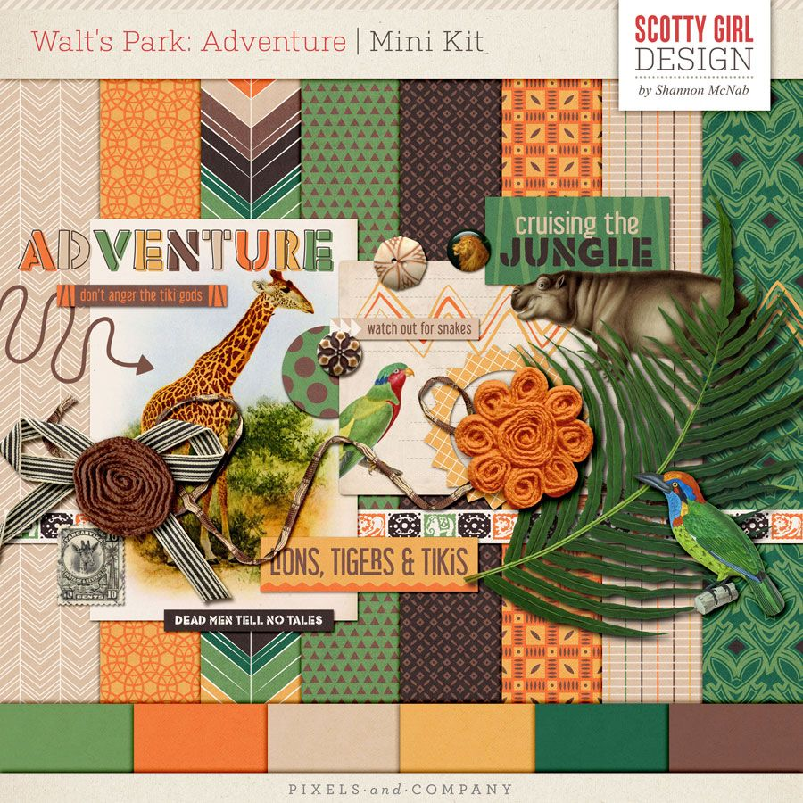 Walt's Park: Adventure Mini Kit