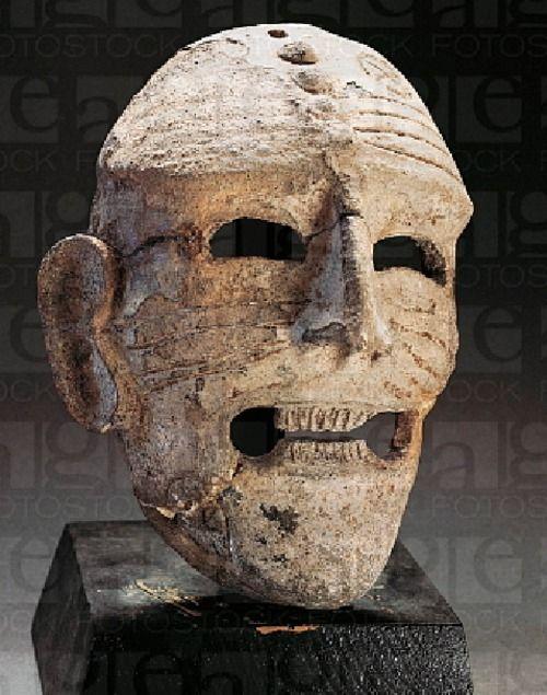 Apotropaic mask  Tharros Sardinia  6th century