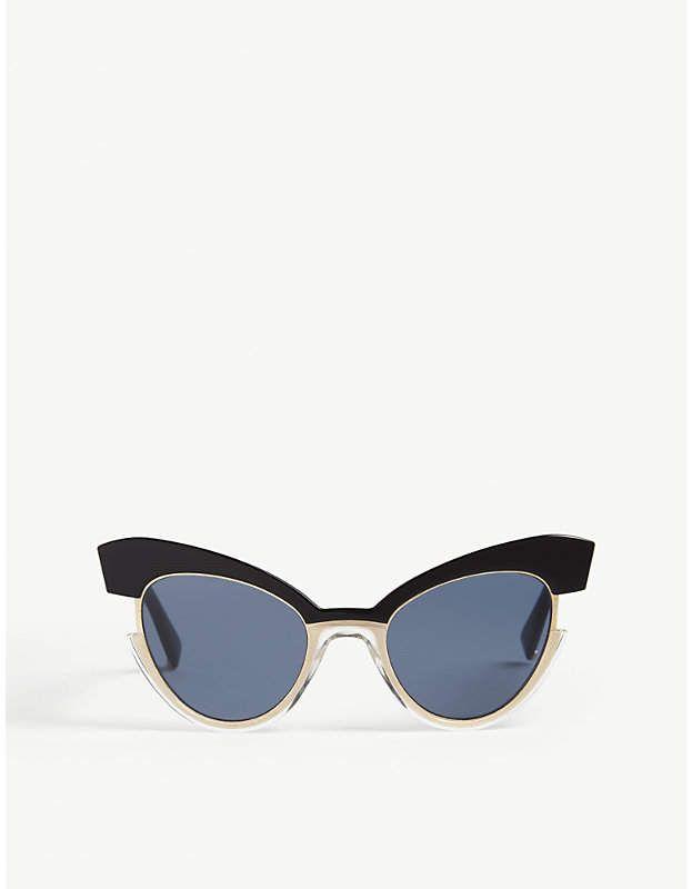 c813c02200de MAX MARA Ingrid cat-eye sunglasses   Products   Cat eye sunglasses ...